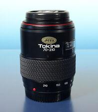 Tokina AF SD 70-210mm/4-5.6 lens objectif Objektiv für Minolta AF Sony - (50306)