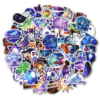50Pcs Mixed Galaxy Stickers Stars Dream Anime Cartoon Sticker DIY Luggage Lapto