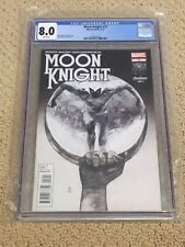 Moon Knight 12 CGC 8.0 White Pages (Classic Cover!!)