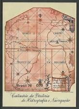 BRAZIL. 1976. Hydrological Directorate Miniature Sheet. SG: MS1577. MNH.
