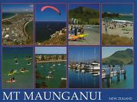 MT MAUNGANUI NEW ZEALAND POSTCARD -  8 MULTIVIEWS NORTHLAND of NZ PC