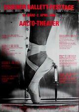 ESSENER BALLETT FESTTAGE - 1989 - Plakat - Aalto Theater - Poster - Essen