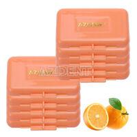US 100X Dental Ortho Braces Relief Wax Orange-Orange Scent For Braces Gum AZDENT