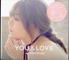 AI SHINOZAKI-YOU & LOVE-JAPAN CD+DVD+BOOK Ltd/Ed I23