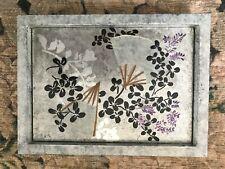 Asian Wall Art,Asian Decor,Handmade Wall Art,Japanese Art,Fans,Flowers