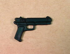 Lifeline v2 Tiger Force OR Law v2~ Black Handgun Gun Pistol~ Gi Joe Parts~ 1988