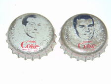 lot of 2 1964-65 Coke hockey caps Gilbert/Henry