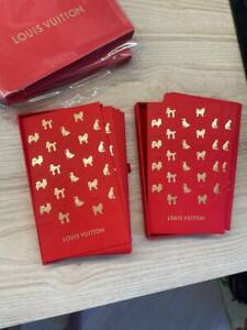 24pcs. Louis Vuitton Chinese New Year Red Packet Money Envelope Dogs