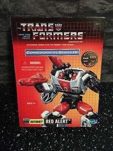 Transformers Red Alert Commemorative 4 Brand New