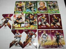 ~*~MIXED LOT OF 13 HANDSIGNED CARDS~*~BRISBANE BRONCOS + COA