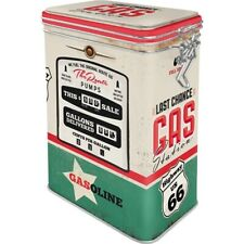Route 66 Aromadose With Clamp Lock Storage Hoard Box Metal, New