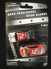 2019 Nascar Authentics 1 87 Wave 4 Brad Keselowski/Ryan Blaney
