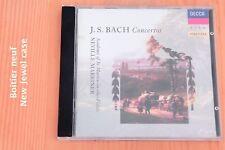 Bach JS - Concertos Hautbois Flûte Violon - Neville Marriner - CD Decca