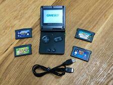 Nintendo Game Boy Advance SP mit 4 spielen Neues Gehäuse