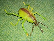 """Vintage 1982 Imperial Rubber Insect Bug Weevil Toy 6-1/2"""" long"""