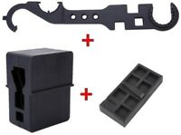 Combo Set Of Upper and Lower Receiver Vise Block and Wrench Gun Smithing Tools B