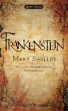 Frankenstein [Signet Classics]  Shelley, Mary  Good  Book  0 Mass Market Paperba
