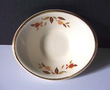 JEWEL TEA AUTUMN LEAF OVAL JELLY DISH HALL CHINA NALCC