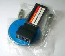 1 pezzo Adattatore Firewire Expresscard/34 FireWire e USB