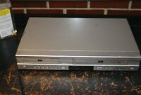Samsung DVD-V4600A +DVD VCR Combo VHS DVD Dual Deck Recorder 4 Head Tested/Works