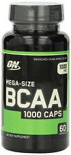 Optimum Nutrition BCAA 1000mg Amino Acids - 60 Capsules
