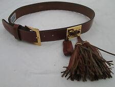 - AUTHENTIQUE  ceinture neuve  GIANFRANCO FERRE cuir    vintage à saisir