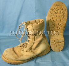 Us Military Desert Tan Combat Boots 2.5 Thru 8.5 and 11 Made In Usa Acceptable