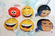 McDonalds Emoji Film Happy Meal Toys panneau STOP, Jailbreak, Gene Smiley