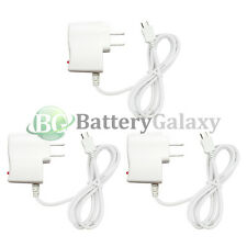 3 Fast White Battery Home Wall AC Charger for Android Samsung Galaxy Note 1 2 3