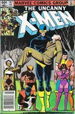 Uncanny X Men #167 VF 8.0 Lilandra New Mutants Marvel Comics Wolverine
