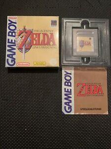 Nintendo Game Boy - The Legend of Zelda - Link's Awakening mit Anleitung in OVP