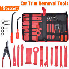 19x Car Door Panel Remover Body Retainer Trim Upholstery Stereo Pry Install Tool