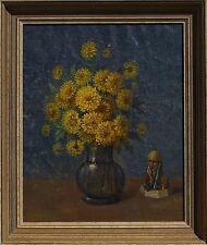 Rudolf Carl Mueller (German/American 1867-1967) Original Oil Painting Still Life