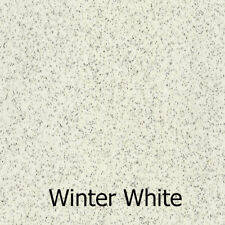 HD Vinyl Floor winter white VW Bay Splitscreen 2m x 1.3 end of roll - 25% off