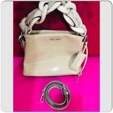 MIUMIU Nude Patent Leather Two Way Runway Women Bag Fall/Winter 2015 collection