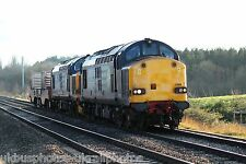 British Rail / DRS 37609 & 37423 (6M56) Rail Photo