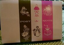 Vintage Boxed Set 40 Post A Note Post Cards Current Greeting Cards Stationary