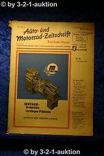Auto und Motorrad Zeitschrift Nr. 44/50  2.11.1950 Der Auto Markt