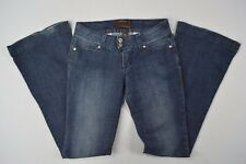 Urban Behavior Junior Womens Wide Leg Denim Blue Jeans size 1/26