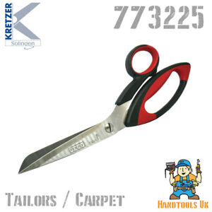 """Kretzer Finny 11"""" Heavy Tailors / Carpet Shears Scissors 773225 Stainless Steel"""