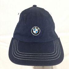 Vintage BMW Olympic Sponsor Ball Cap Hat Strap Back