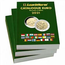 Catalogue de cotation monnaies et billets Euros 2021.