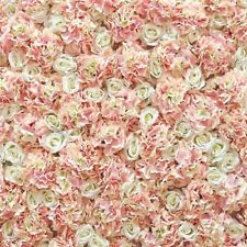 Peach Wedding Flower Wall HIRE Artificial Backdrop 10ft x 10ft SPECIAL OFFER