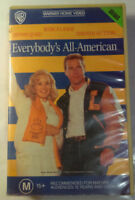 Everybody's All-American VHS 1988 Taylor Hackford Warner Home Video Large Case