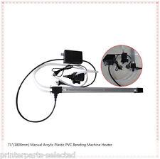 "71"" Manual 3D Acrylic Sign Plastic PVC Bending Machine Heater Bender Slot 220V"