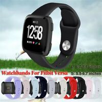 Smart watch Watchband Bracelet Strap Wristbands Silicone Band For Fitbit Versa