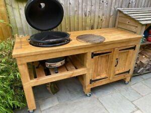 Kamado bbq table  built to order