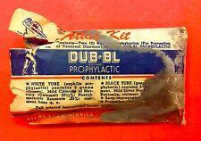 FOUND - DUB-BL - Prophylactic Condom - ATLAS LABORATORIES KIT - AKRON OHIO 1930s