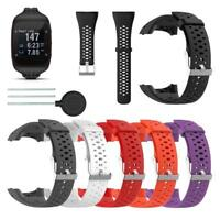 Silicone Replacement Watch Band Bracelet Wrist Strap for Polar M400 M430 Watch