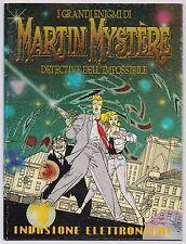 MARTIN MYSTERE - INVASIONE ELETTRONICA ! albetto speciale Glamour 1990 mystère